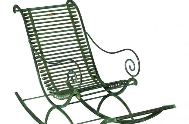 Rocking chair en fer forgé Arras - Maison d'un Rêve