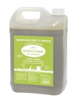 Recharge de savon noire liquide à l'huile d'olive Marius Fabre