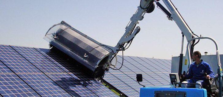 Clean Progress assure le nettoyage de votre panneau solaire